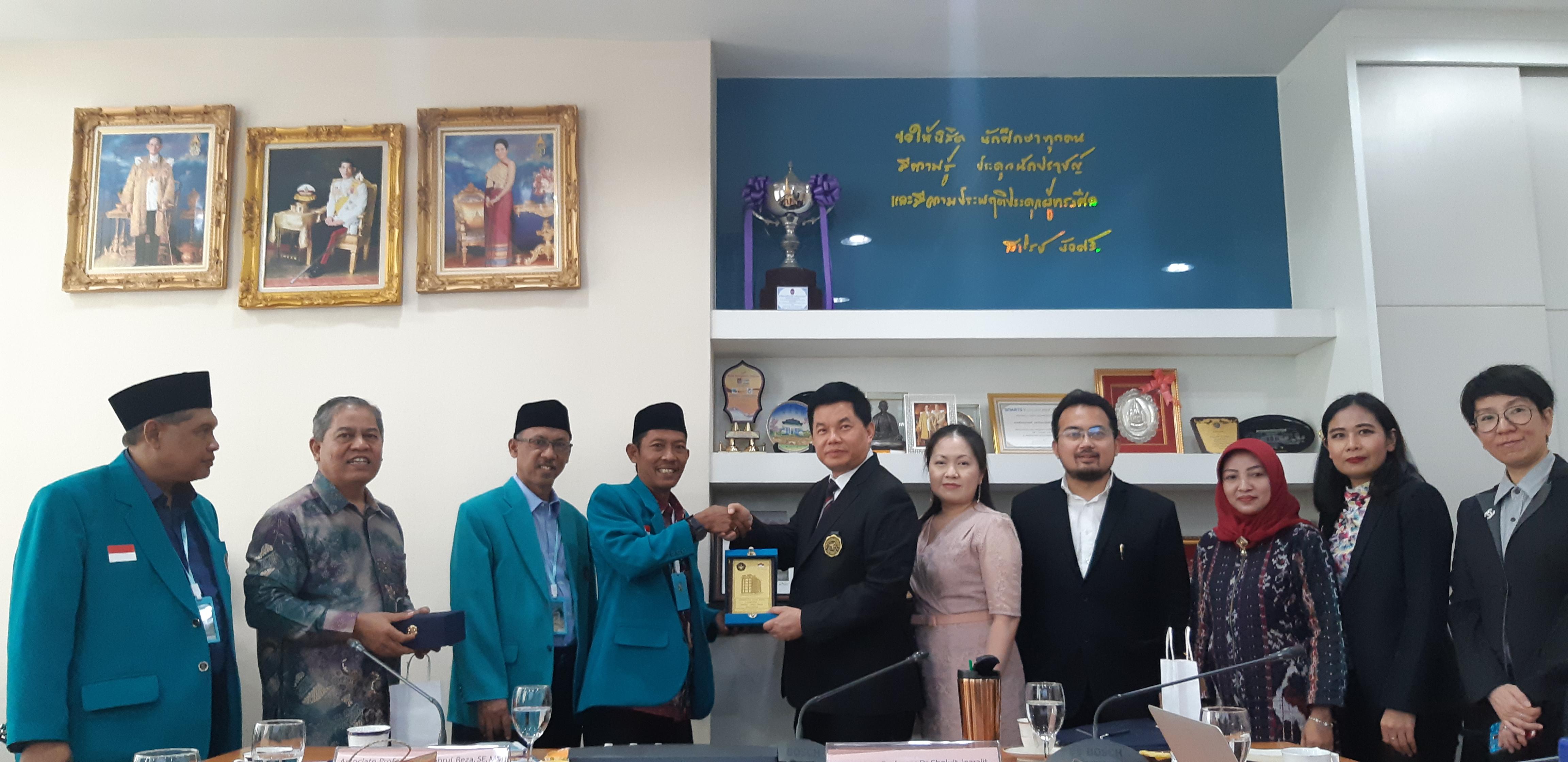 Program Pascasarjana UNISKA, Sit In ke Bangkok, Thailand